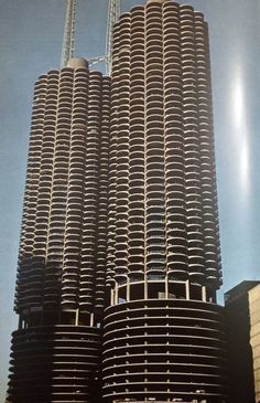 Bertrand Goldberg, Marina City, Chicago, 1964-1967