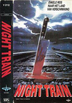 Night Train To Terror Horror Best Horror Movies, Scary Movies, Old Movies, Great Movies, Old Movie Posters, Horror Movie Posters, Night Train, See Movie, Movie Covers