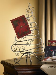 Celebrate - Holiday Card Holder. http://www.biltmoreinspirations.com/holly  http://www.facebook.com/inspirations.holly