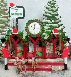 Artfully Musing: Santa's Village (image 3 of 3)