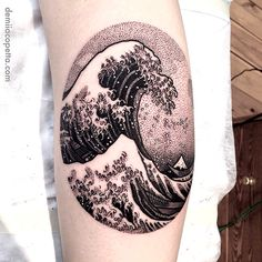 thievinggenius:  Tattoo done by Demi Iacopetta. @demi_tattoo