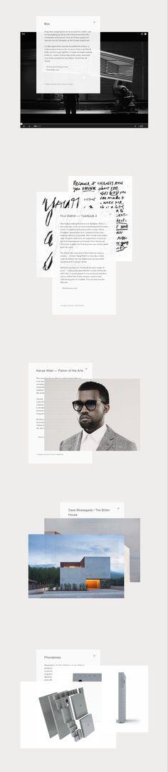 http://achronology.com/ blog design