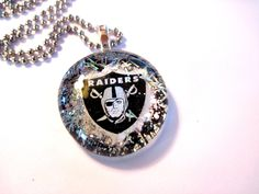For those Die Hard Raiders Fans.  They will love you this Christams! Oakland Raiders Raiders Penant Gift by TheWoodsSecretGarden