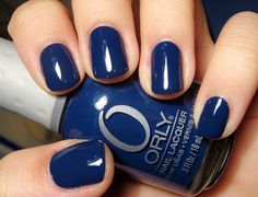 "Orly - La Playa - Loved this color that I used in mid-January, talk about ""Winter Blues""! (2014)"