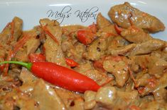How To Cook Bicol Express - Mely's kitchen