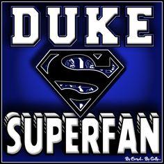 Duke SUPERFAN By Carmel Hall
