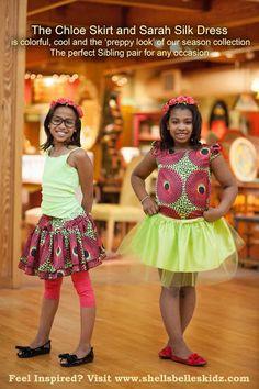 Omotiny Inspires!: Breathtaking Ankara Inspired Designs for Kids from Shells Naija. Shells belles kidz.