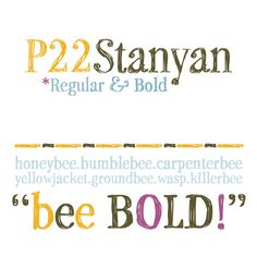 The P22 Stanyan font family, a decorative and sketchy typeface. Richard Kegler, an experienced type designer and founder of P22 font foundry has created th