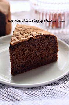 袅袅烘焙香: 巧克力海绵蛋糕