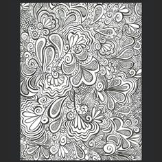 I turned my drawing into an iPhone case! Doodle, doodles, zentangle, zentangles.