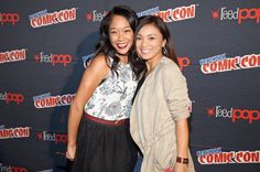 Shelby Rabara (Peridot) and Jennifer Paz (Lapis)