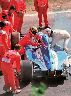 Watch Ayrton Senna save Eric Comas life! A true sporting legend and absolute hero. Click to watch!