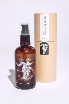 100ml Beard Oil from Gruff & Bristle
