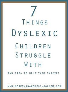 7 Things Dyslexic Children Struggle With - My amazing girl is dyslexic. We have learned to not only be ok with this but to thrive with it. However, there are some difficulties that come with dyslexia that people don't always talk about. I am going to shar Dyslexia Activities, Dyslexia Strategies, Dyslexia Teaching, Teaching Time, Learning Disabilities, Teaching Reading, Reading Help, Reading Activities, Bible Verse Memorization