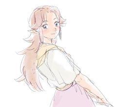 The Legend of Zelda: Ocarina of Time, Adult Malon / 「らくがきゼルダ」/「YM」のイラスト [pixiv] [09]