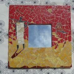 Tableau mosaique juste inspir du peintre franck ayroles for Carrelage 80x20
