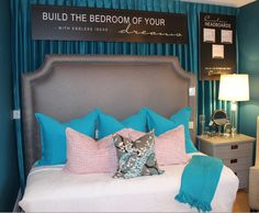 Designing your own headboard with Endless Ideas is now as easy as 1,2,3!  Stop by the showroom to check out our new Custom Headboard Collection. #EndlessIdeas