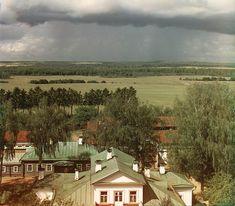 Вид с колокольни Спасо-Бородинского мон. на местность, где марш. Ней вел атаку на флеши Багратиона. Бородино, 1911