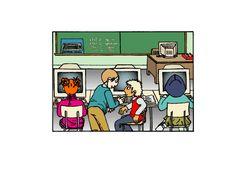 Jak uczniowie korzystają z internetu? Koniecznie przeczytajcie! Internet, Comics, Cartoons, Comic, Comics And Cartoons, Comic Books, Comic Book, Graphic Novels, Comic Art