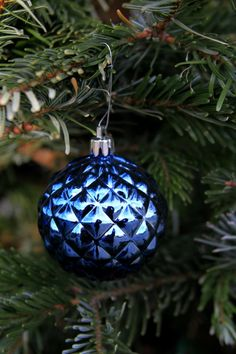 Blue Ornament by Michele Shank