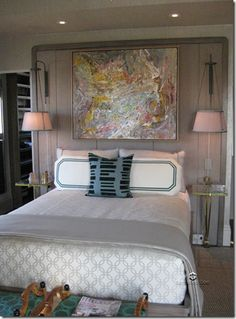 elle decor showhouse Jay Jeffers Master Bedroom