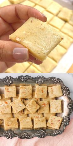 Easy Indian Dessert Recipes, Easy Indian Sweet Recipes, Indian Desserts, Indian Sweets, Indian Food Recipes, Almond Flour Desserts, Burfi Recipe, Delicious Desserts, Yummy Food