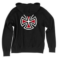 Independent Bar/Cross Pullover Hooded Sweatshirt Black