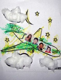 Easy Airplane Craft for Younger Kids - Artsy Momma