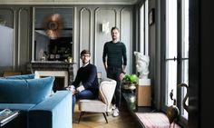 Portrait David Chaplain et Alexandre Roussard Appartement Paris