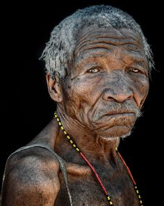 """Trevor Cole on Instagram: """"Khoisan elder The Bushmen are the arguably the oldest indigenous peoples of Southern Africa. Largely hunter-gatherers, their territory…"""" Hunter Gatherer, Lee Jeffries, African Art, Old Things, San, Statue, People, Ageing, Photography"""