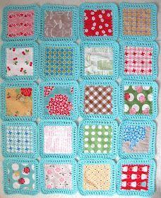 Bee In My Bonnet: Fusion Blanket Crochet Along... a tutorial.