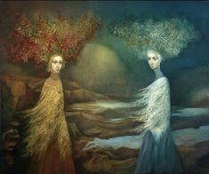 '' WINTER AND FALL '' - Alla Tsank