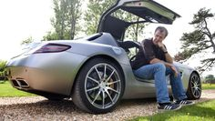 Clarkson on the Mercedes SLS AMG - BBC Top Gear - too funny!