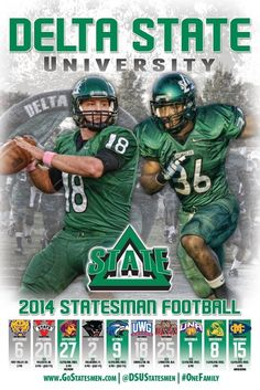 Delta State Football - One of my favorites