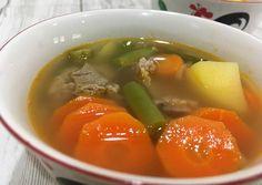 Sup daging sapi simple tapi enak, cocok buat pemula