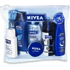 NIVEA Reiseset für Ihn. (Travelset for him). #nivea #travelset #forhim
