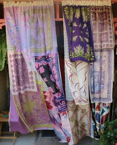 TEMPEST TOSSED Handmade Gypsy Curtains by BabylonSisters on Etsy