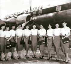 Flight attendants that made history - SKYPRO News Angeles City Philippines, Miss Philippines, Philippines Culture, Manila Philippines, Virgin Atlantic, Zeppelin, Jose Rizal, Filipino Culture, Chinese Culture