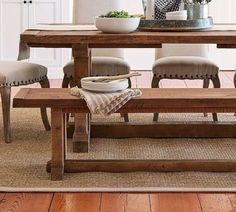 Beautiful salvaged wood bench, finished by hand with a light wax. #ad #decor #moderndecor #homedecor #farmhouse