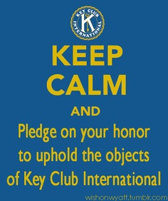 45 Best Key Club is my life images in 2013 | Kindness matters