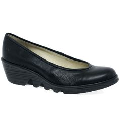Fly London Pako Womens Wedge Heeled Casual Shoes $185