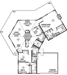 Level 1 | House plans | Pinterest | Modern house plans, Window wall ...