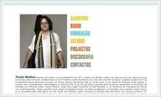 Website para Musico Paulo Muiños