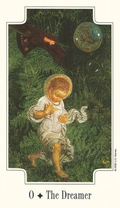 The Dreamer (The Fool) - Transformational Tarot - If you love Tarot, visit me at www.WhiteRabbitTarot.com