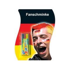 """Tolle Fanartikel zur Fußball-WM 2014, wie """"HAAC Deutschland Fan Schminke Schminkstift 3-farbig schwarz-rot-gold in Deutschlandsfarben Fußball 2014"""" jetzt kaufen: http://fussball-fanartikel.einfach-kaufen.net/schminke-skins/haac-deutschland-fan-schminke-schminkstift-3-farbig-schwarz-rot-gold-in-deutschlandsfarben-fussball-2014/"""