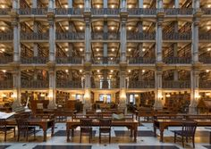 6. George Peabody Library