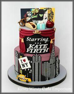 New York Musical Cake
