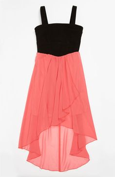 Roxette High/Low Dress (Little Girls  Big Girls) available at #Nordstrom
