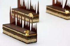 love the chocolate work!