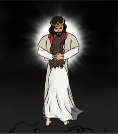 No photo description available. Jesus Cartoon, Jesus Artwork, Jesus Wallpaper, Worship Wallpaper, Pictures Of Jesus Christ, Bride Of Christ, Christian Wallpaper, My Jesus, Jesus Freak